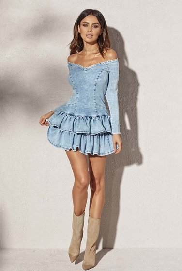 GIGI - BLEU JEANS DRESS