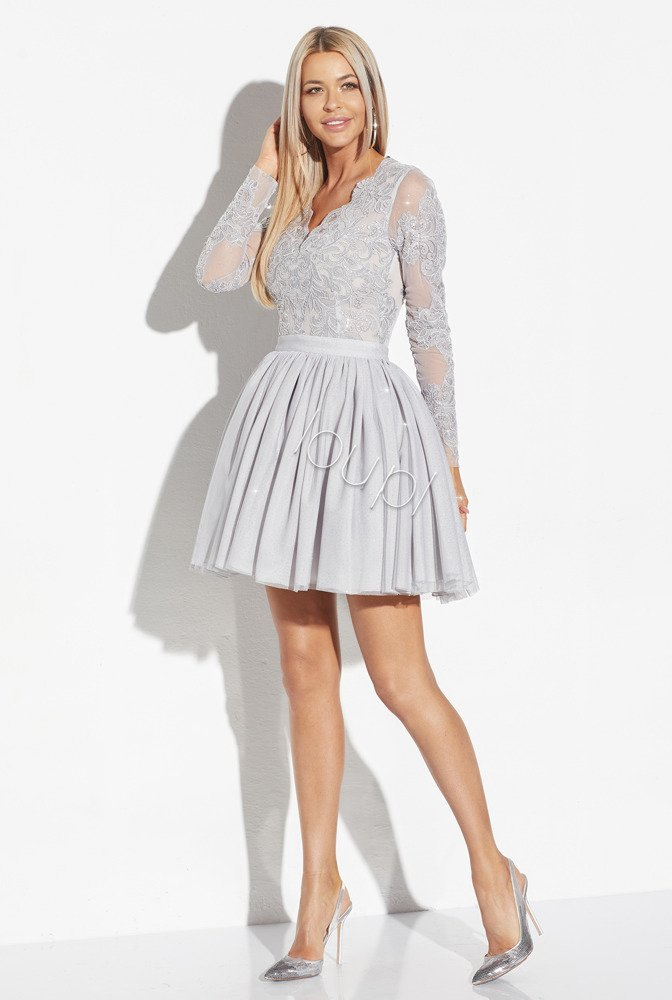 ANDREA - GREY LACE DRESS | DRESSES \ COCKTAIL DRESSES \ ALL | Tytuł ...