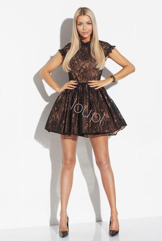 Marielle Black Lace Dress