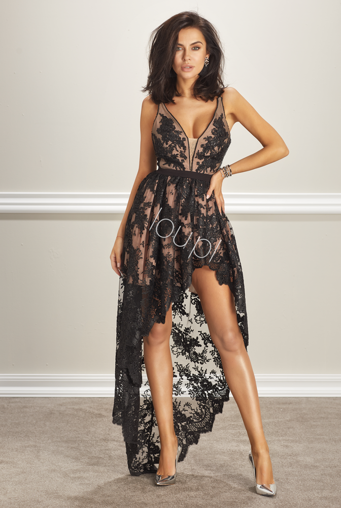 MARSHA - BLACK LACE GOWN | DRESSES \ RED CARPET DRESSES \ ALL ...