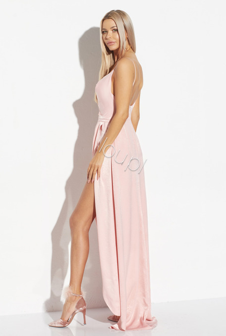 ALISSON - PINK LONG GOWN