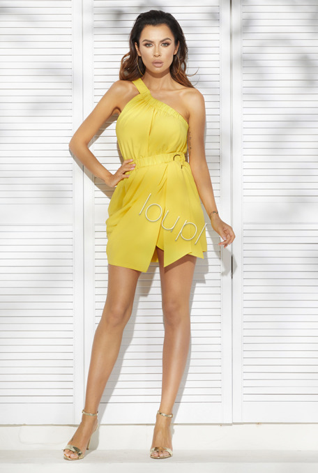 CHICCA  -  YELLOW DRESS