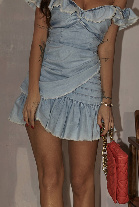 CORESSA - BLEU JEANS DRESS