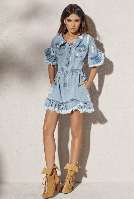 FRIDA - BLEU JEANS DRESS
