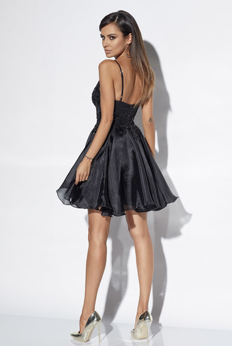 HOPE - BLACK DRESS WITH LACE