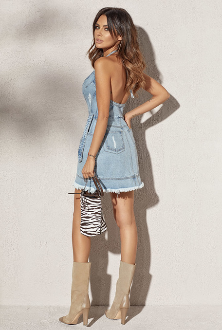 NEVA - BLEU JEANS DRESS