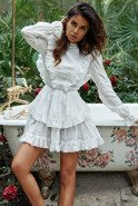 Sheeva - A dress in boho style in white colour
